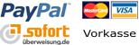 PayPal - Mastercard - Visa